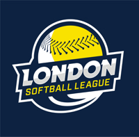London Softball League logo